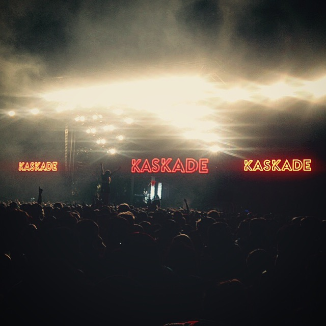 Kaskade main stage Coachella