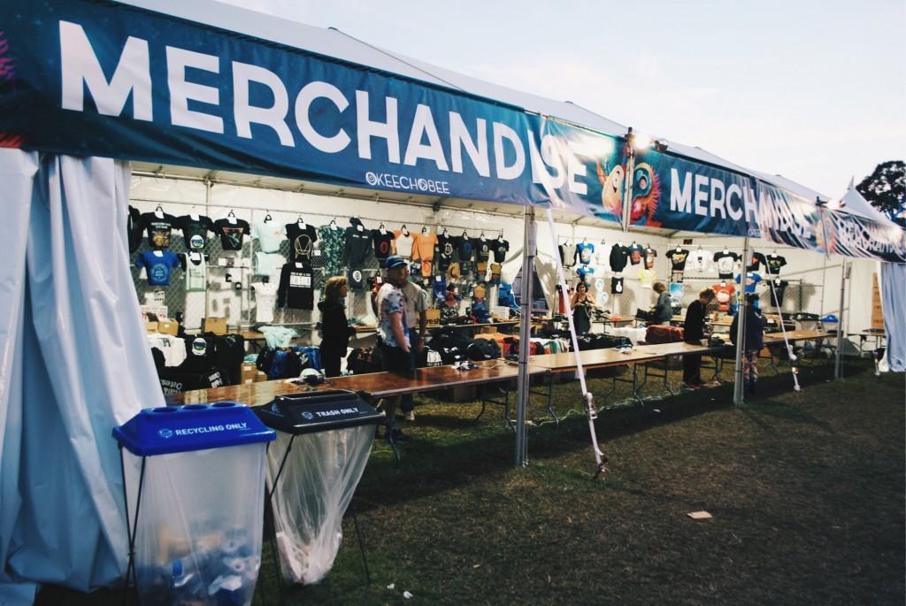 Merch Tent