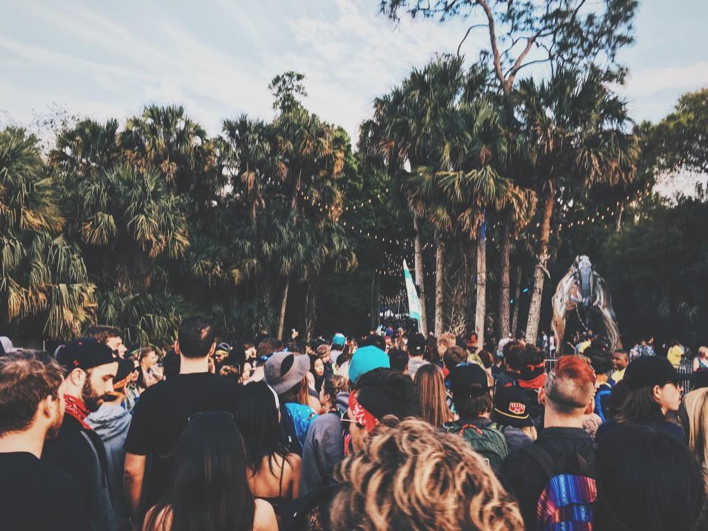 Crowd Shot - Okeechobee Music Festival